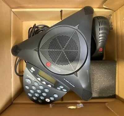 Polycom Soundstation 2 Conference Phone Wpower Modulecord 2201-16000-601