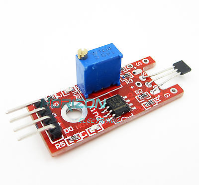 5pcs Hall Magnetic Standard Linear Module For Arduino Avr Pic Good New