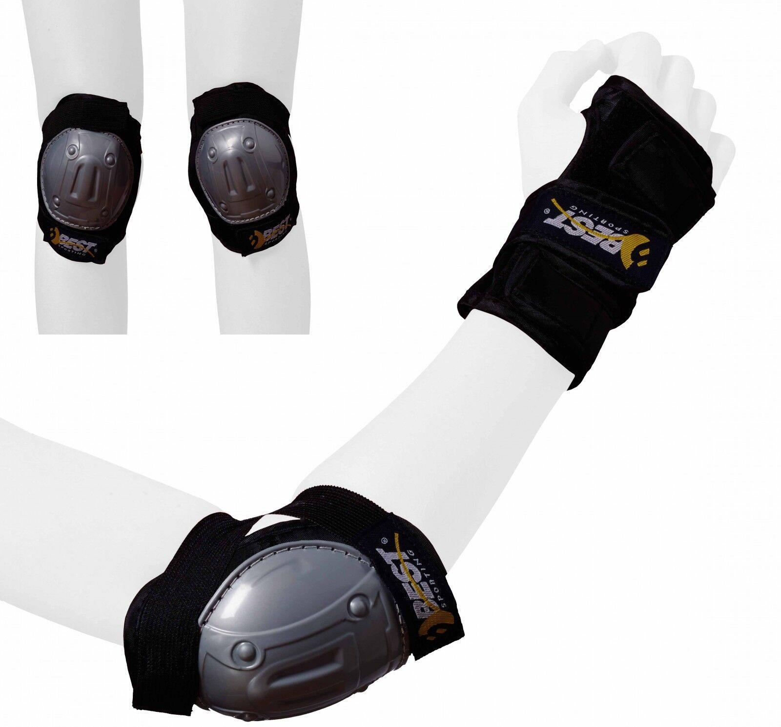 Best Sporting Kinder Schützerset Knieschutz Ellenbogenschutz Handgelenkschutz