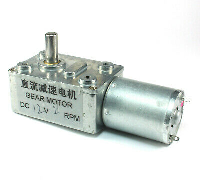 12vdc 2rpm Gearmotor