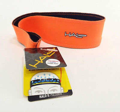 Halo Headband Pullover II Sweatband - Bright Orange