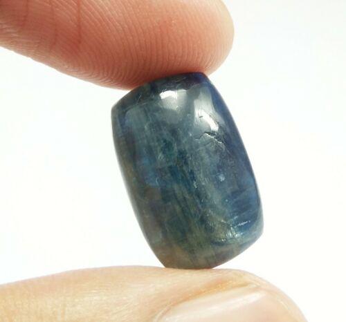 19.44 Ct Natural Blue Cushion Kyanite Cabochon Good Size Loose Genuine Gemstone