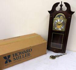 IOB Howard Miller Battery Powered Dual Chime Wall Clock