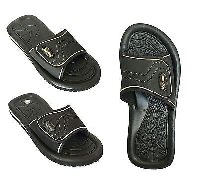 New Mens Sport Slide Sandals For Shower Pool Gym House