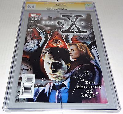 X-Files #11 CGC SS 9.8 Signature Autograph DAVID DUCHOVNY Signed Topps Comics 🔥