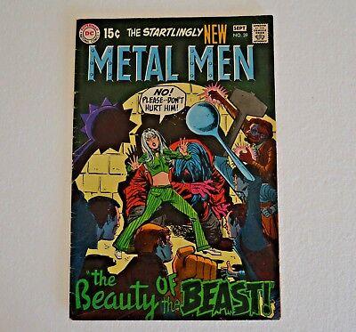 Vintage DC Comic Book Metal Men BEAUTY OF THE BEAST Sept.1969  #39