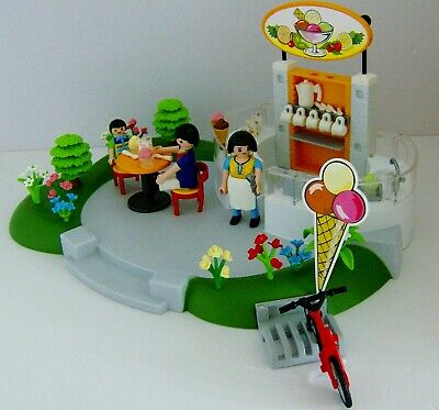 Playmobil Ice Cream Parlour with Figures & Accessories 4134