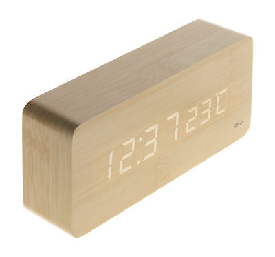 Thermomètre lingot finition effet pin naturel Otio