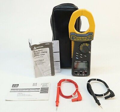 Extech 380926 2000a True Rms Acdc Clamp Meter