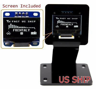 0.96 I2c Iic Serial 128x64 Led Oled Lcd Display Module Stand Holder 4 Arduino