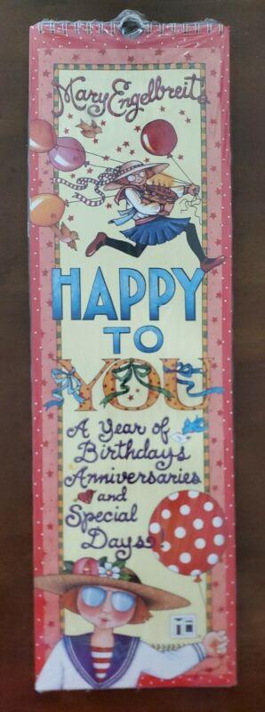 Mary Engelbreit HAPPY TO YOU Perpetual Birthday Calendar, in original packaging