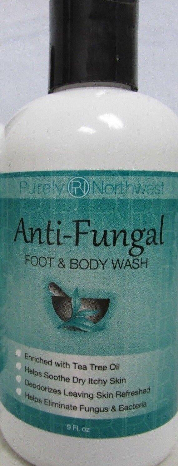 Antifungal Tea Tree Oil Body Wash, Helps Athletes Foot, Ring