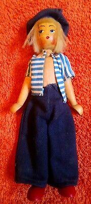 Vintage Polish Peg Doll.
