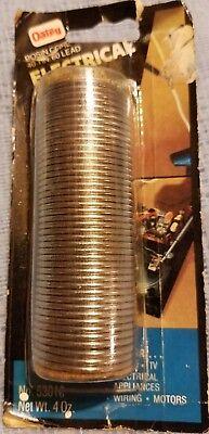 Oatey Rosin Core 40 Tin 60 Lead Electrical Solder Net Weight 4 Oz Part 53016