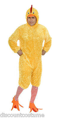FUNKY CHICKEN ADULT UNISEX HALLOWEEN COSTUME SIZE LARGE 42-44