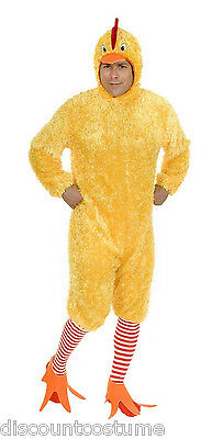 FUNKY CHICKEN ADULT UNISEX HALLOWEEN COSTUME SIZE SMALL 36-38
