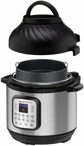 Instant Pot Duo Crisp Pressure Cooker 11 in 1 with Air Fryer 8 Qt, Cook & Crisp
