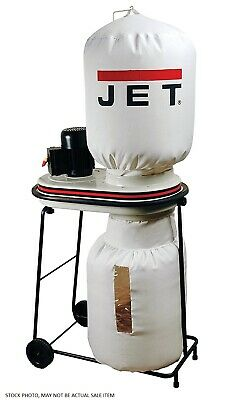 Jet Dc500 Dust Collector 500 Cfm 3450 Rpm 120v 4.5a 12 Hp