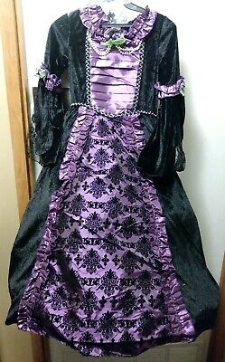 Renaissance Costume For Girls (Medieval Princess Costume Renaissance Purple Dress Girls Childrens Gown)