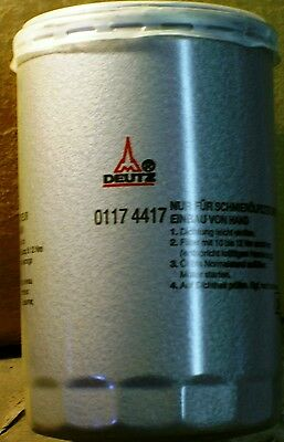 Deutz 1011-1011f-2011 Engine Oil Filter 0117 4417