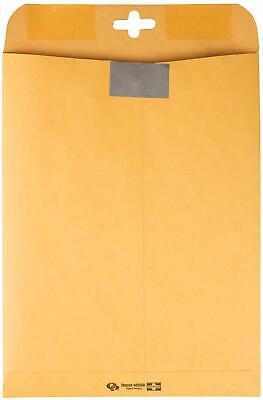 Quality Park Clearclasp Kraft Envelopes 10 X 13 Brown Kraft 100box