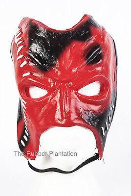 Klassisch Kane Maske Wrestling Halloween Replik Kostüm Offen Mund Kostüm ()
