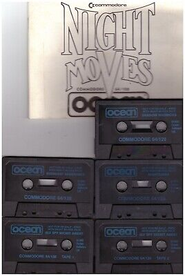 Night Moves Unboxed for Commodore 64 from Ocean