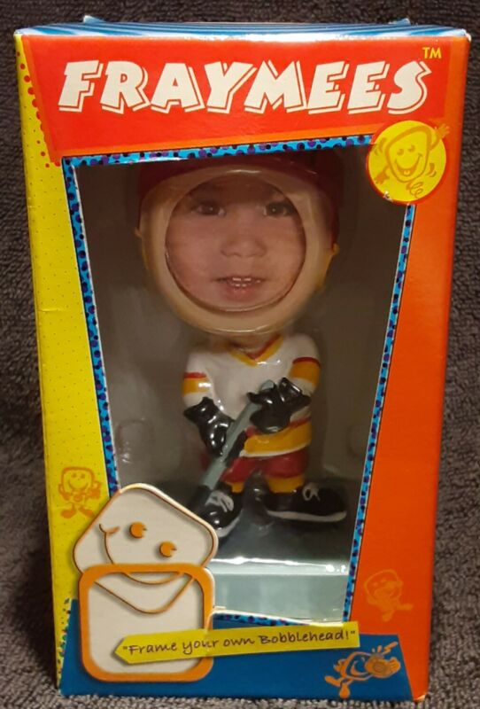 "Fraymees 5"" Custom Bobblehead ""Frame Your Own Bobblehead!"" Ice Hockey NEW!"