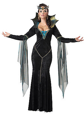 Evil Sorceress Queen Witch Adult Costume