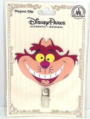 Disney Cheshire Gato Imán Broche Refrigerador Tema Parks Alicia Maravillas Nuevo