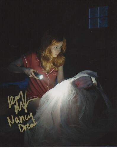 Kennedy McMann Nancy Drew Autographed Signed 8x10 Photo COA 2019-66