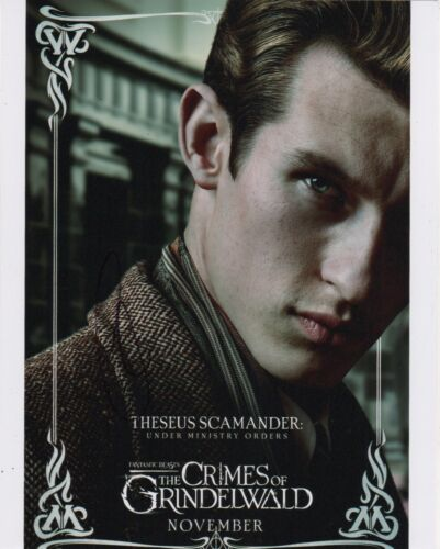 Callum Turner Fantastic Beasts Autographed Signed 8x10 Photo COA CA12