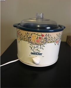 Gently used crockpot - good condition & works great