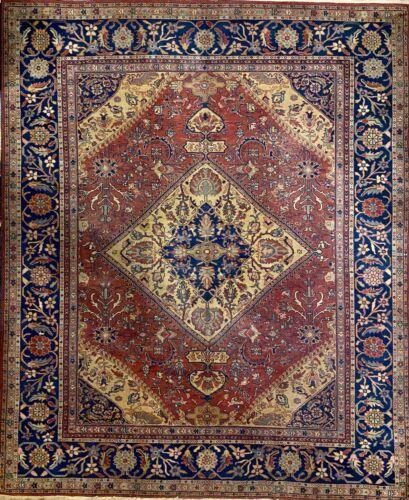 Handmade Antique Distressed Turkish Sparta Floral & Tribal Oriental Rug, 8x10