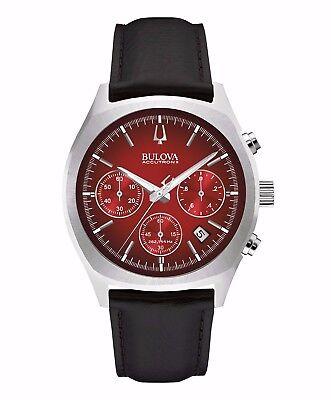 Bulova Accutron II Men's 96B238 Surveyor UHF Quartz Chronograph 41mm Watch