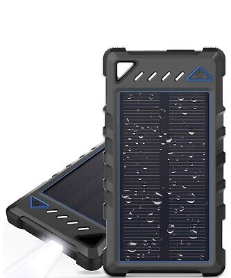 Manageable Solar Charger, BEARTWO 10000mAh Ultra-Compact External Batteries