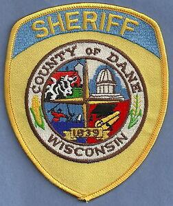 DANE COUNTY SHERIFF WISCONSIN POLICE PATCH