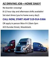 AZ Drivers Needed - CALL 519-914-5366 - Local Work