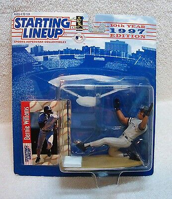1997 Starting Lineup NY Yankees Bernie Williams MLB