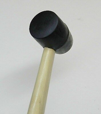 Rubber Mallet 8 Oz Hard Rubber Hammer Jewelry Making Metal Forming Tool