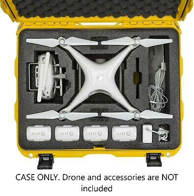 DJI Hallucination 4/Adv/4 Pro+/4 RTK/ Phantom 3 Drone Professional Wheeled Case