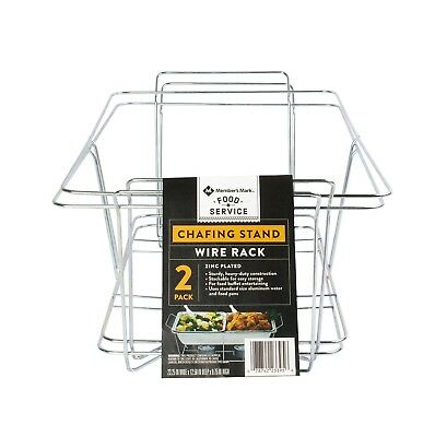 g Dish Wire Rack (2 pk.). (Chafing Dish Rack)