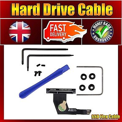 Apple Mac Mini A1347 821-1501-A SSD SATA HDD Hard Drive Flex Cable & Tool Kit