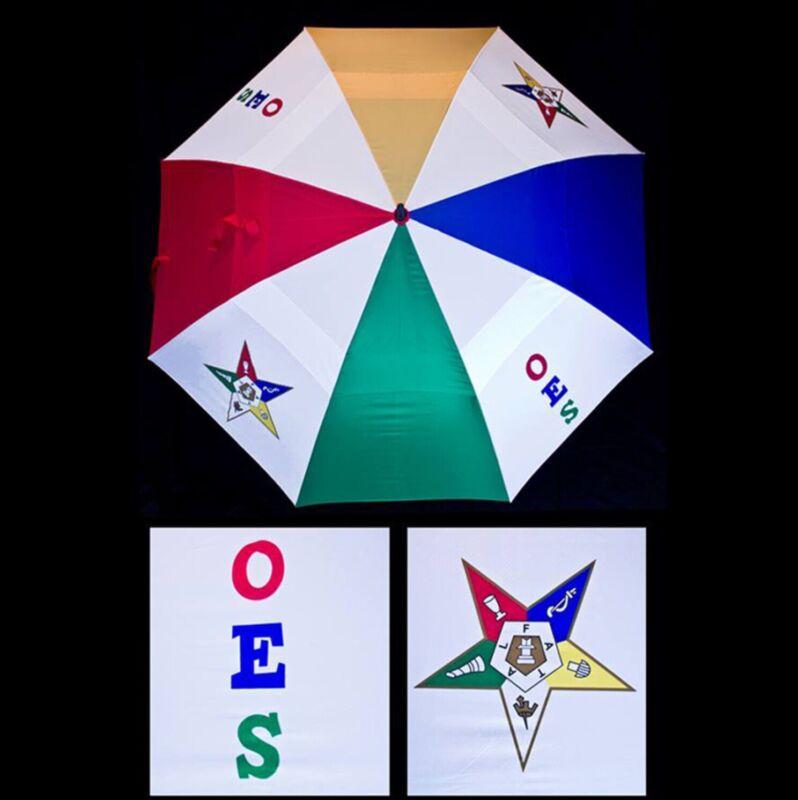Reversible (OES) Order Of Eastern Star Umbrella
