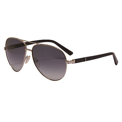 af779b85a4 Pierre Cardin - Palladium Silver Aviator Style Sunglasses with Case