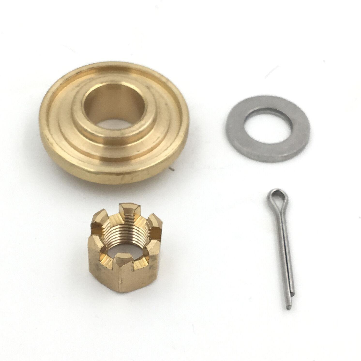 Propeller Hardware Kits Thrust Washer/Spacer/Nut for SUZUKI DF15HP/DF20HP