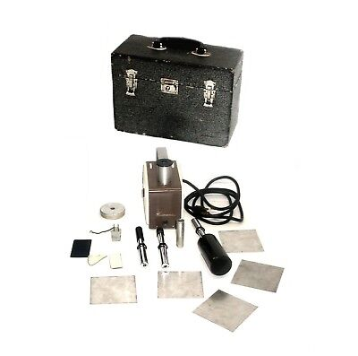 Victoreen 570 Radiation Condenser R-meter Geiger Counter Wcarry Case Probes 3