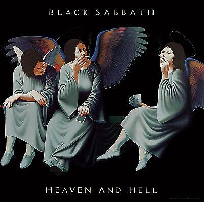 BLACK SABBATH - Heaven & Hell Album Cover Art Print Poster 12 x 12