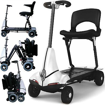 Monarch Solax Mobie Folding Boot Mobility Scooter - 4MPH WHITE FULLY SERVICED✔️