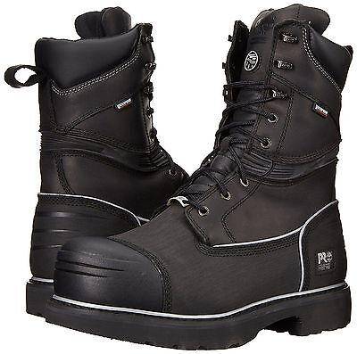 "Timberland PRO Boots Mens 53531 10"" Gravel Pit Mining St Toe WP INSUL 200G/400G"